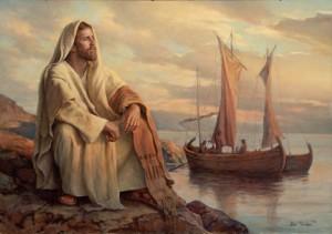 Jesus pensativo