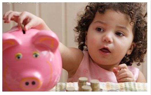 valor del dinero y los niños