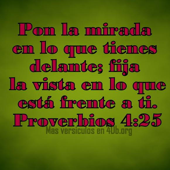 Proverbios 4:25 Palabras Que Fortalecen Imagenes de Dios Es Bueno Para compartir en Facebook