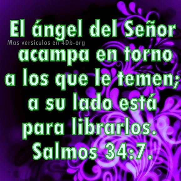 Salmos 34:7 Palabras Que Fortalecen Imagenes de Dios Es Bueno Para compartir en Facebook