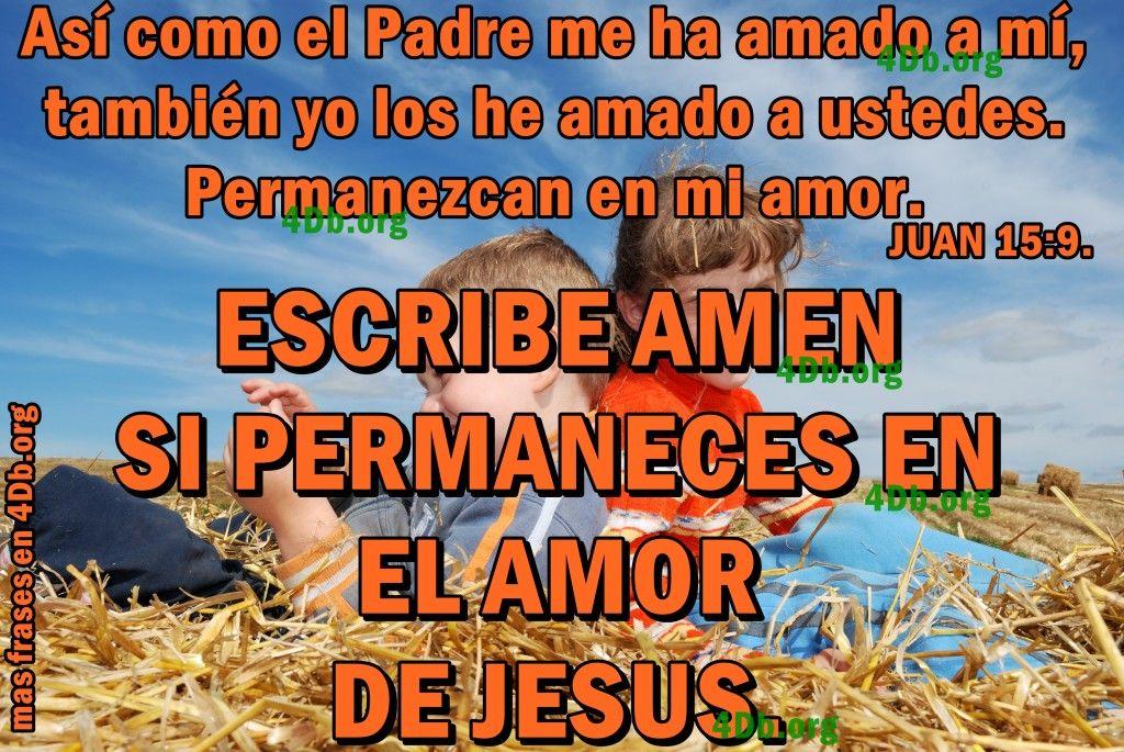 imagen de juan 15:9