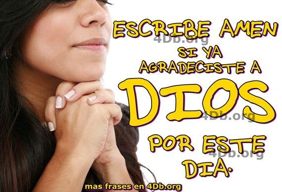 Versiculos De La Biblia De Animo: Agradece A Dios Por Este Día.