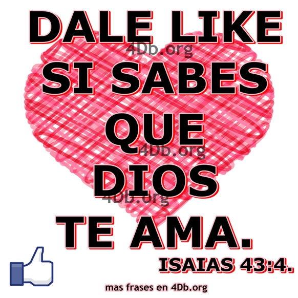 Dios te ama.