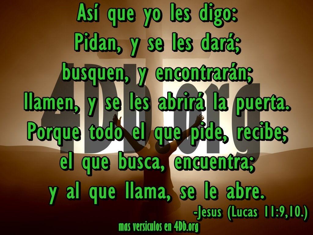 una imagen de lucas 11:9-10