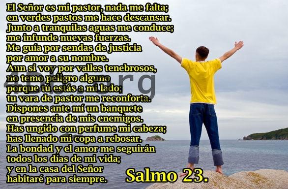 Salmo 23 Nada Me Faltará