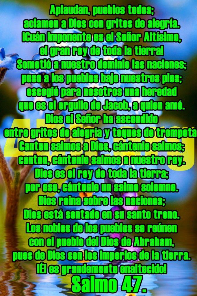 Una imagen del salmo 47