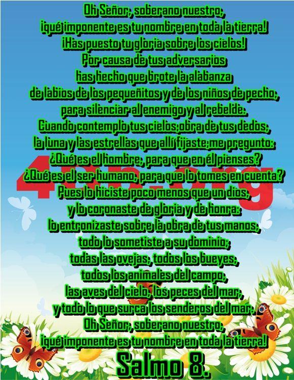 Salmo 8 de honra.