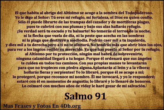 imagen de salmos 91