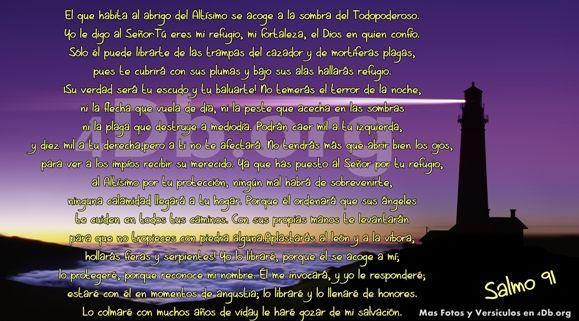 Salmo 91 Dios Es Bueno, Dios Es Amor, Frases De Amor, Reflexiones