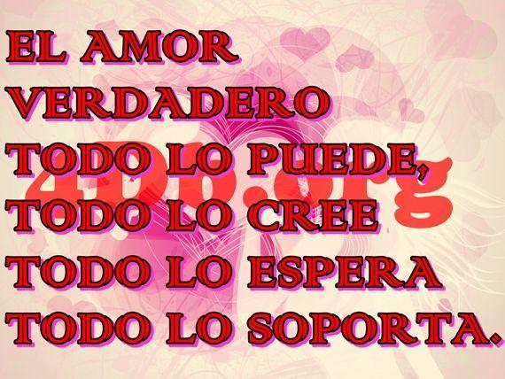 El Amor Verdadero Frases De Amor Dios Es Bueno Diosesbueno Com