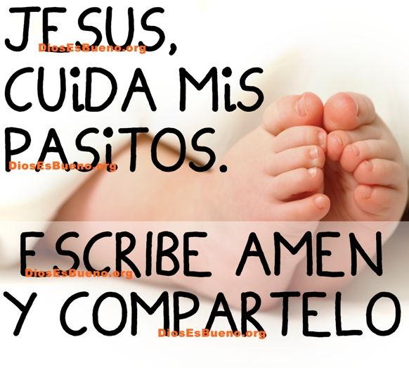 Jesús Cuida Mis Pasitos