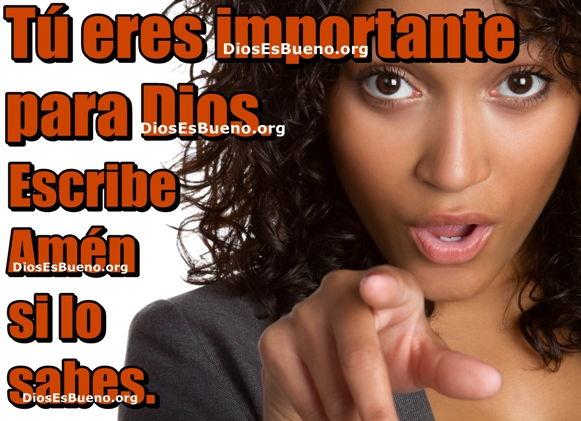 Tu Eres Importante Para Dios