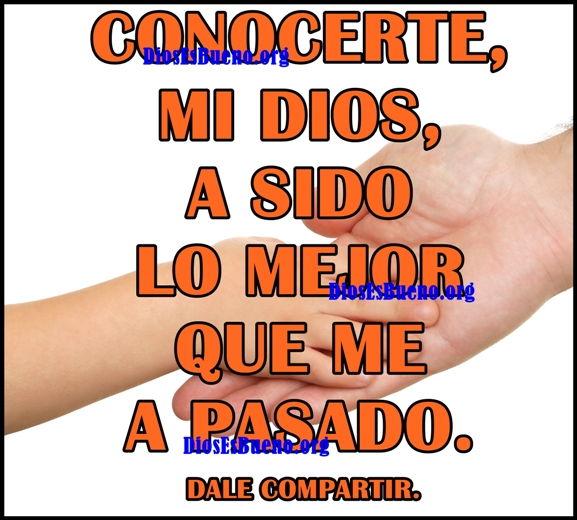 Conocerte Mi Dios