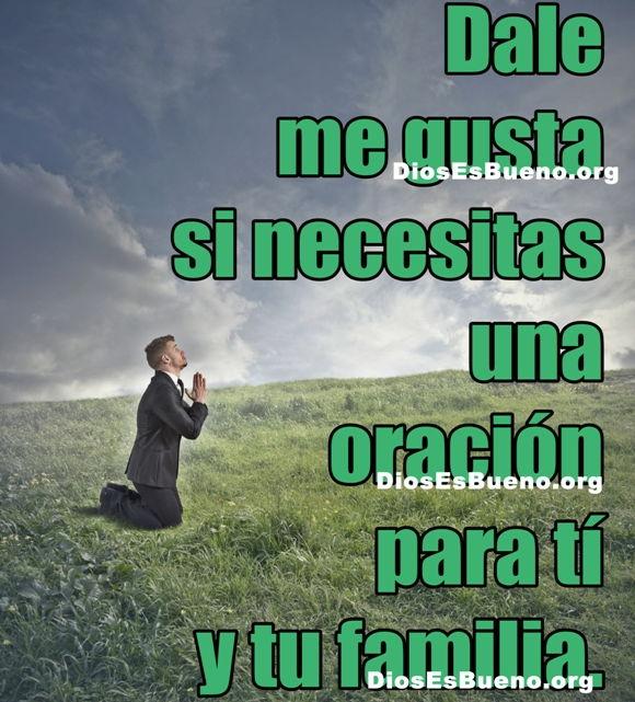 Una oración para ti y tu familia