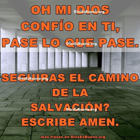 Oh Dios Mio Confío En Ti