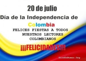 Imagen de la independencia de colombia
