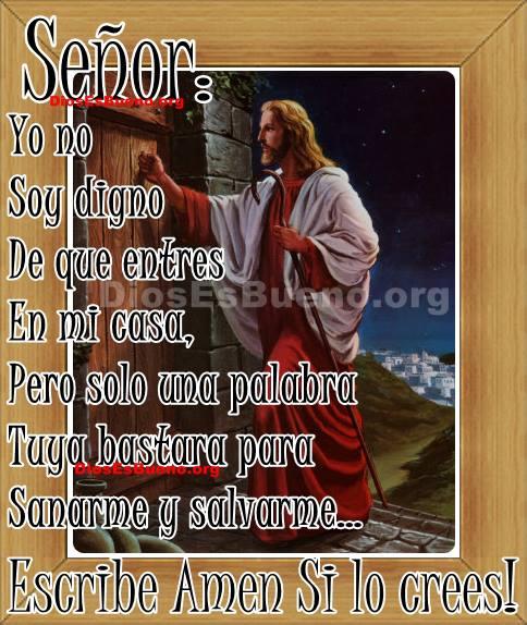 imagen que exalta el nombre de Jesús