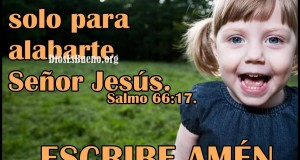Alabarte Señor Jesus