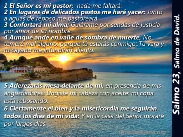 Salmo 23 Aguas de reposo