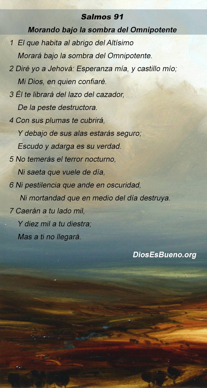 Oracion Del Salmo 91 Newhairstylesformen2014 Com