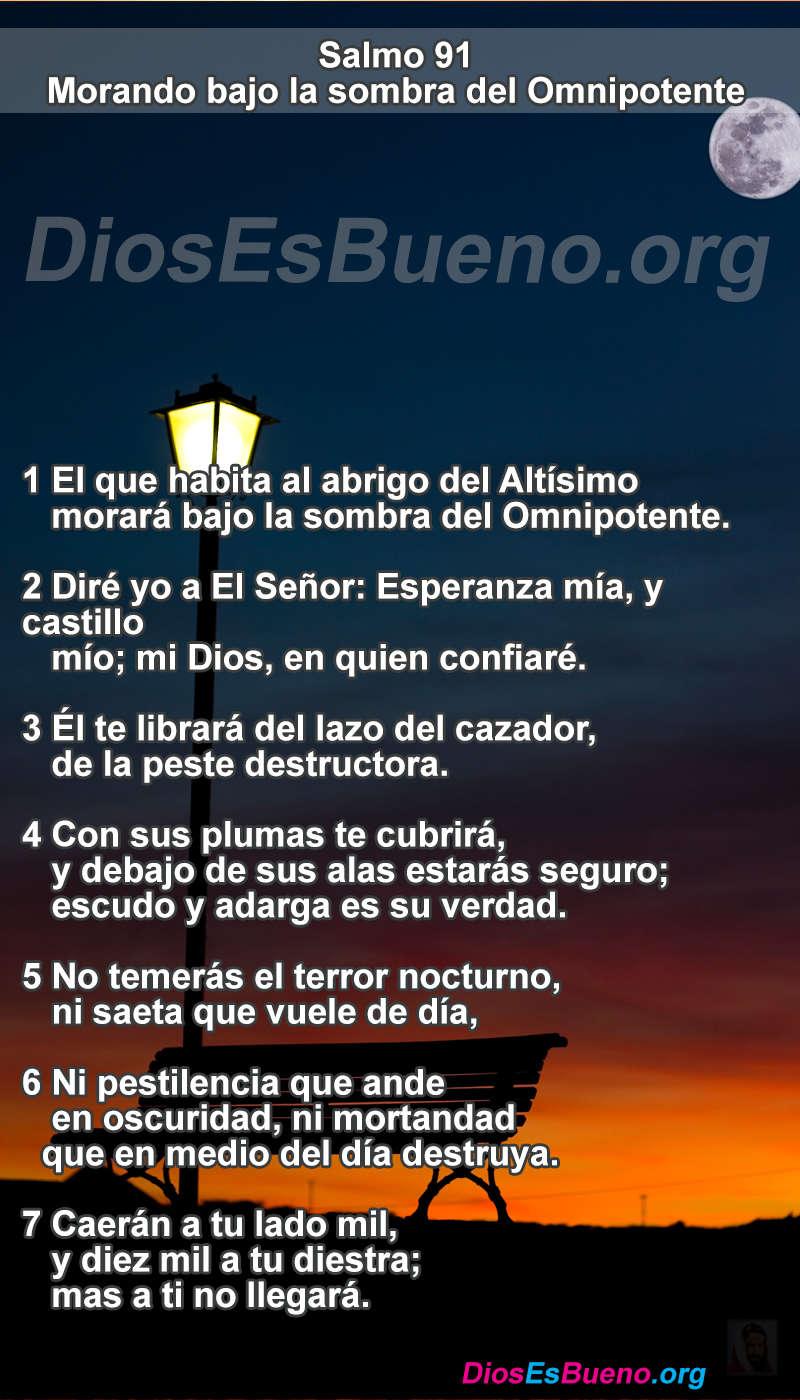 Salmo 91 Te Librara