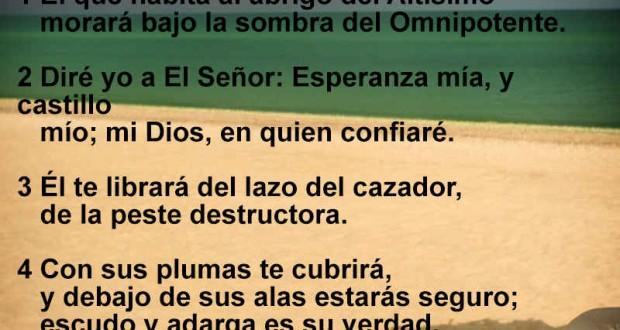 Salmo 91 Te guarda