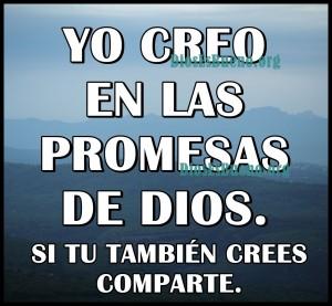 Yo Creo En Las Promesas De Dios