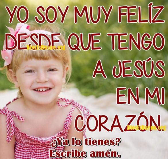 Yo Soy Muy Feliz Desde Que Tengo A Jesús