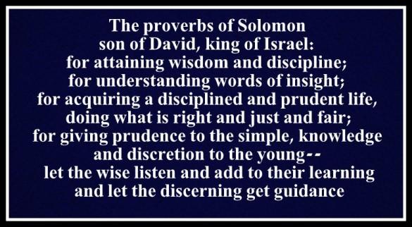Proverbios (1)