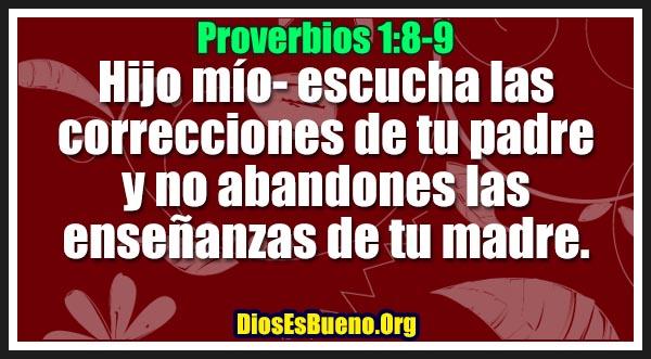 Proverbios 1:8-9