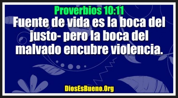 Proverbios 10:11