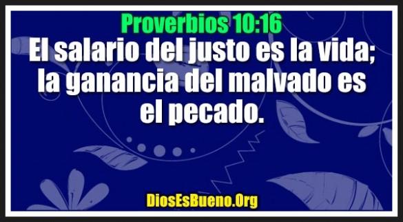 Proverbios 10:16