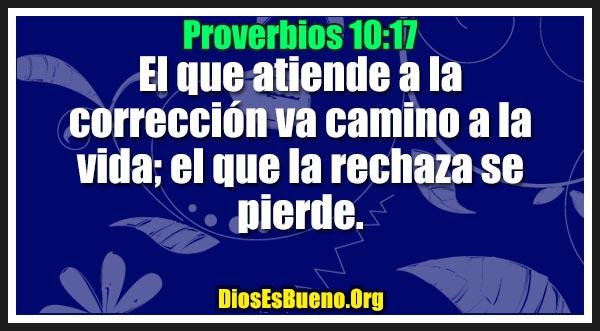 Proverbios 10:17