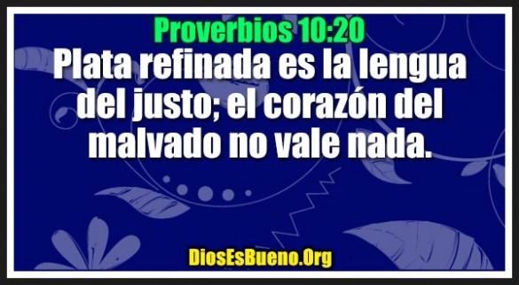 Proverbios 10:20