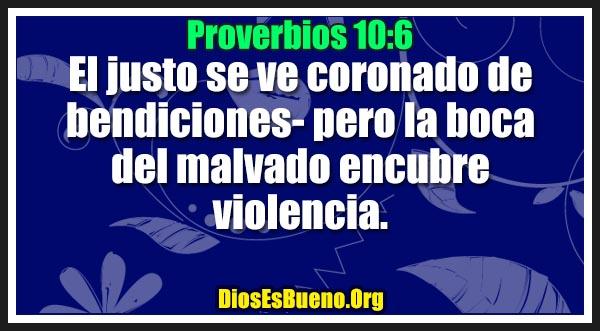 Proverbios 10:6
