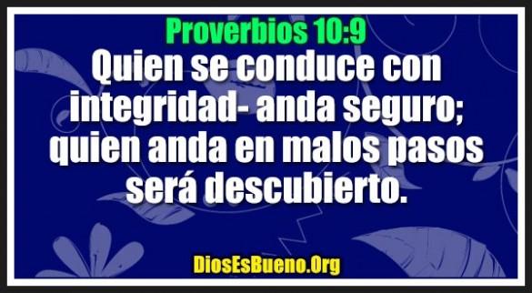Proverbios 10:9