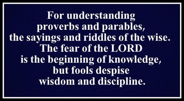 Proverbios (2)