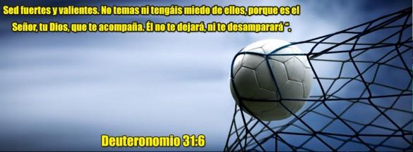 Deuteronomio 31:6 Red Soccer