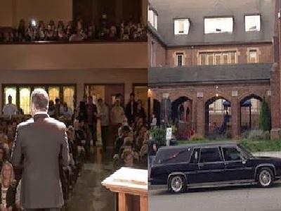 Pastor llega en carro fúnebre al Servicio de Adoración del domingo