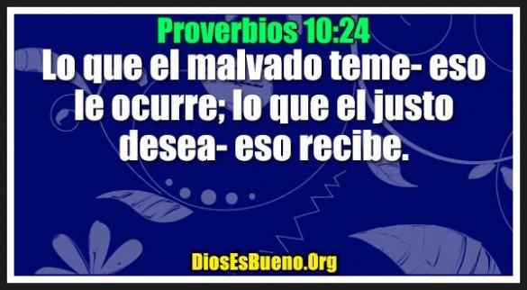 Proverbios 10:24