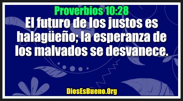 Proverbios 10:28
