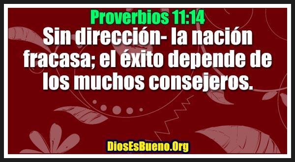 Proverbios 11:14