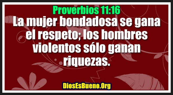 Proverbios 11:16