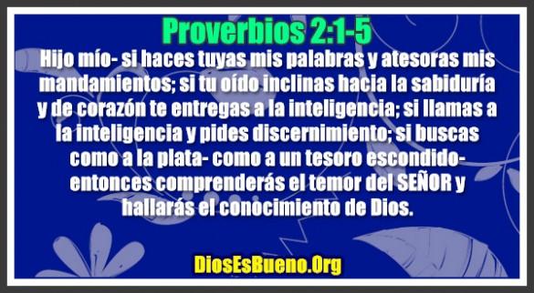 Proverbios 2:1-5
