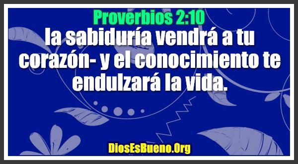 Proverbios 2:10