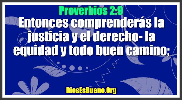 Proverbios 2:9