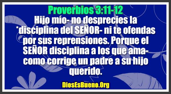 Resultado de imagen para imagen de proverbios 3:11--12