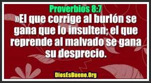 Proverbios 8:7