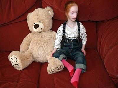 Charlotte, la niña más pequeña del mundo