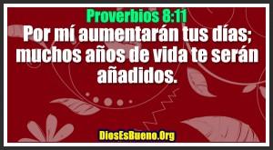 Proverbios 8:11